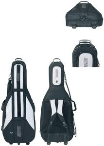 GEWA Cello Gig-Bag JAEGER Rolly 4/4 schwarz/anthrazit