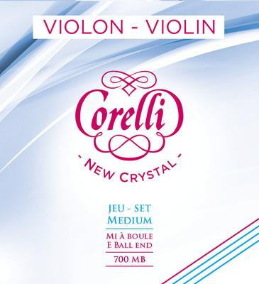 Corelli Saiten für Violine New Crystal A 4/4 Medium (702M)